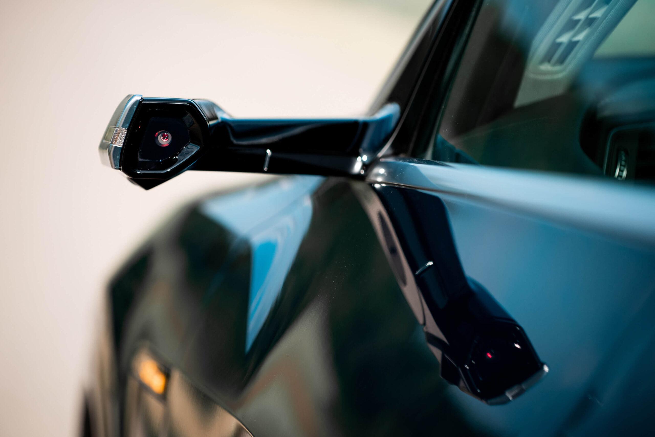 Audi e-tron wirtualne lusterka