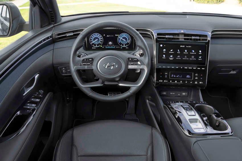 Hyundai Tucson wnętrze